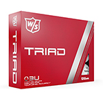 8040 Wilson Staff DUO Professional White Golf Balls