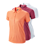 9540 Wilson Ladies Authentic Polo Logo